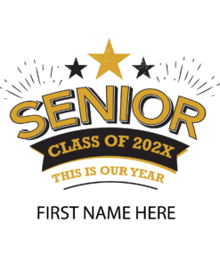 Yard Sign Senior Grad Design 0002